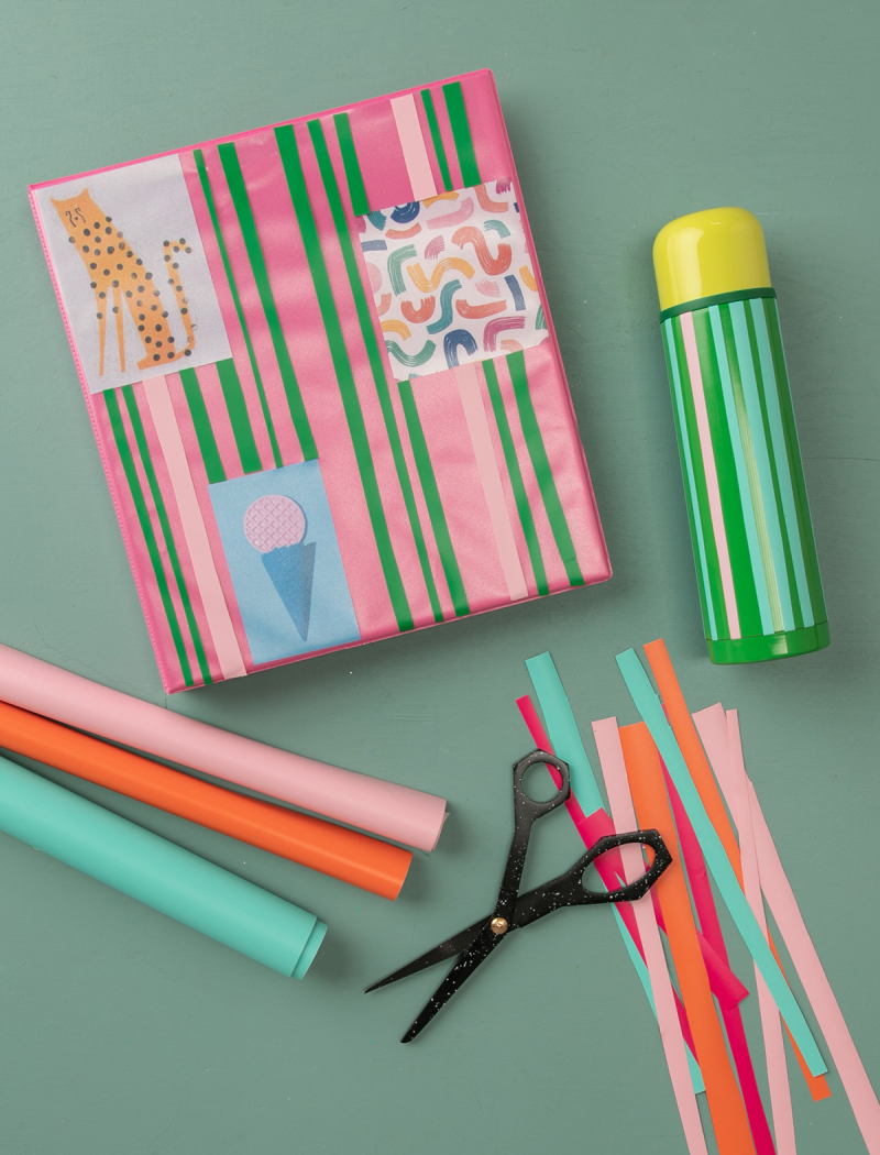 A Fun Back-To-School DIY... / via Oh Joy!