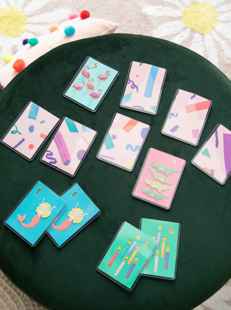 DIY Memory Game for Kids / via Oh Joy!