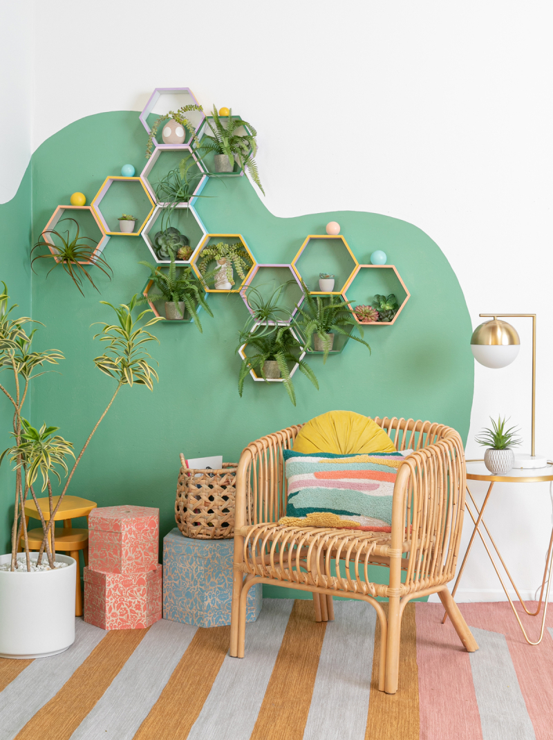 A Living Wall DIY / via Oh Joy!