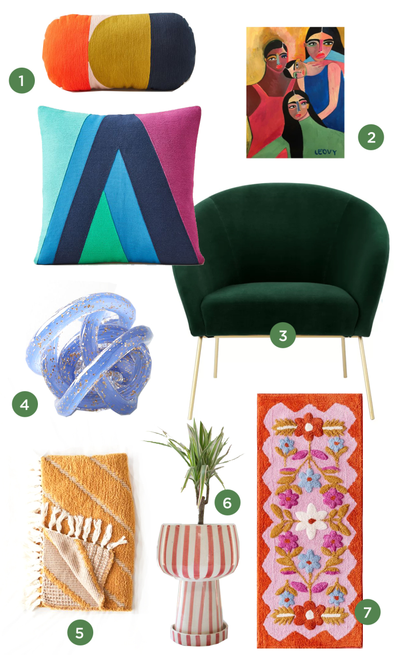 Jewel Toned Home Decor