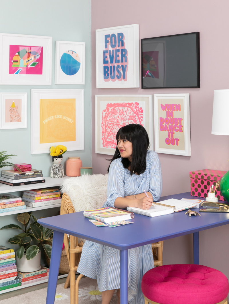 From Planner to Office: An Oh Joy! x Erin Condren Inspired Space / via Oh Joy!