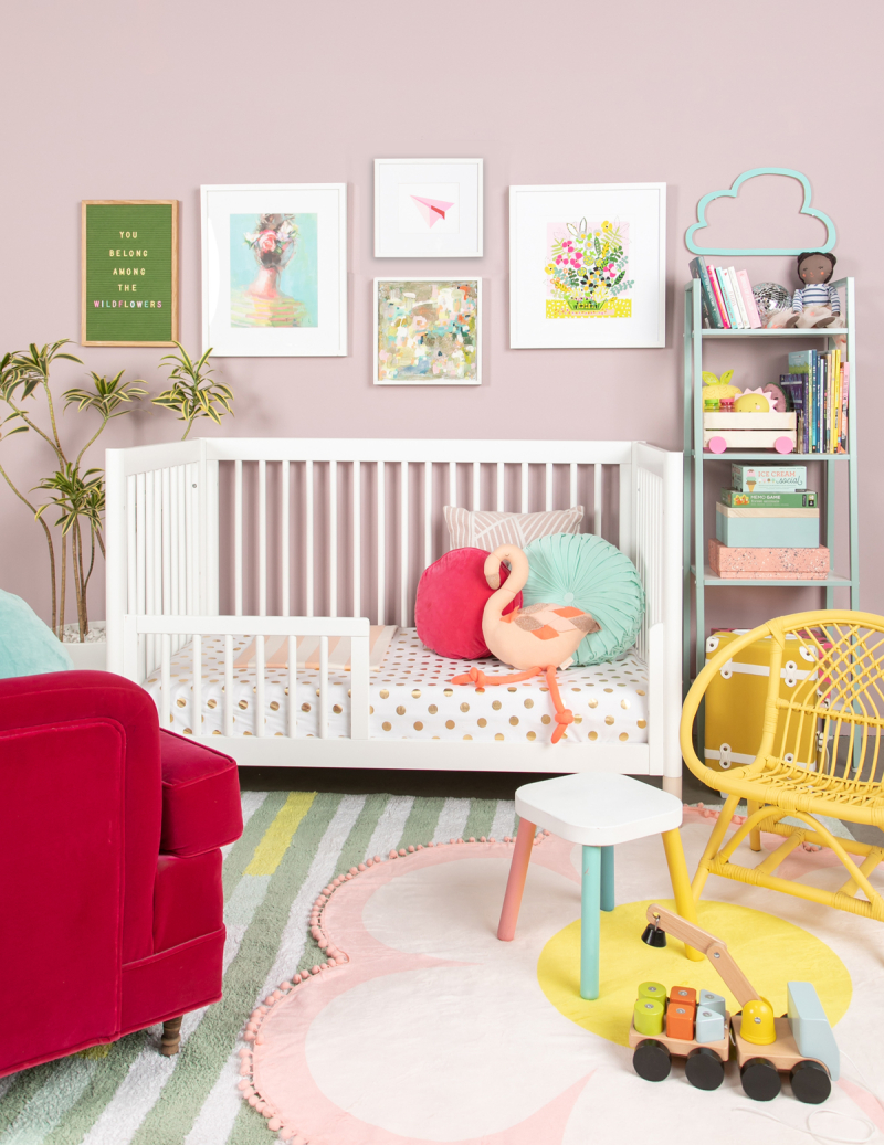 From Print To Nursery... / via Oh Joy!