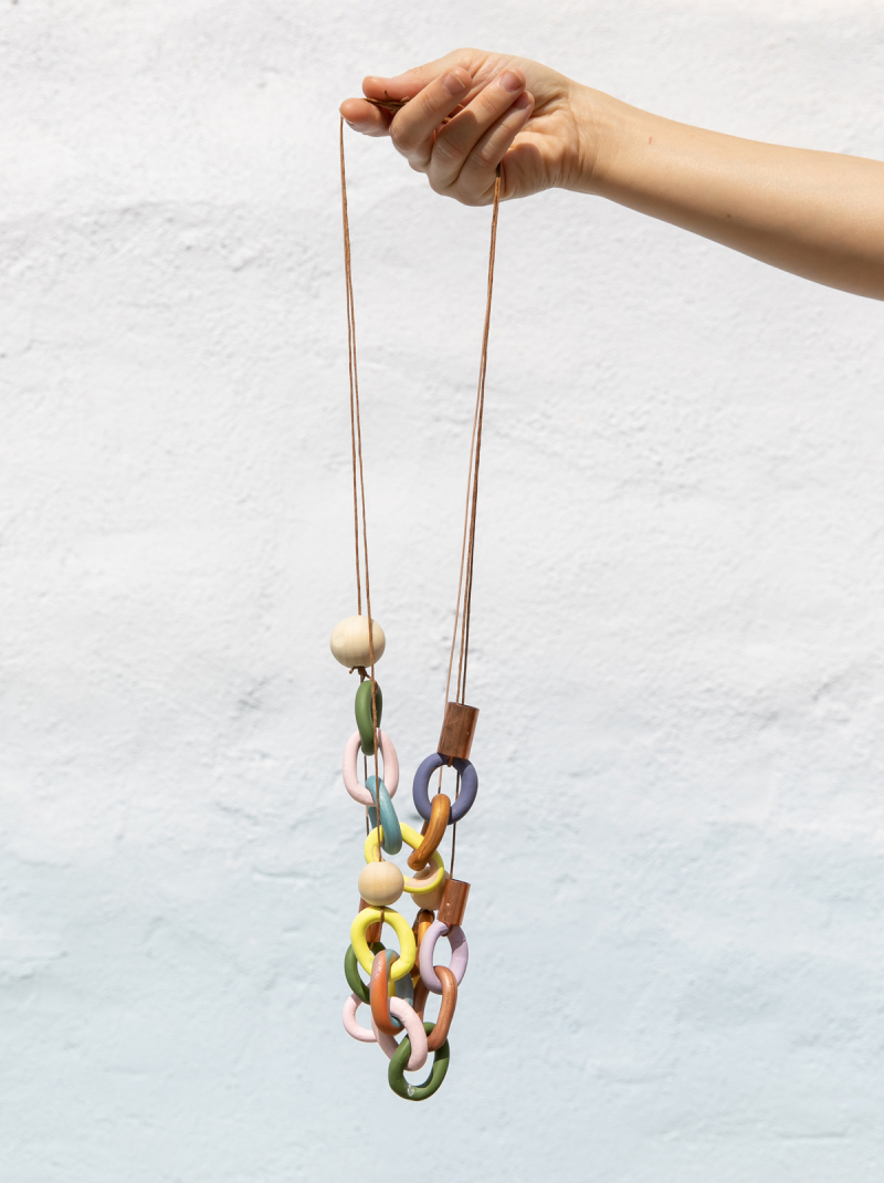 make your own link necklace... / via oh joy!