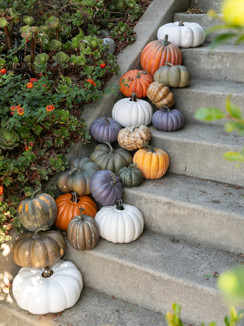 halloween doorstep decor... / via oh joy!