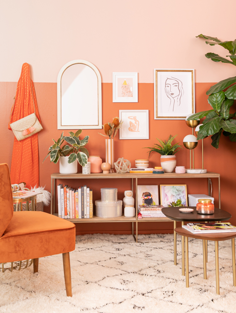 color adventures: a rust living room / via oh joy!