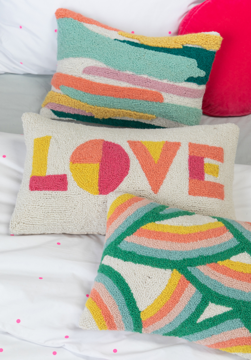 Cozy up with Our New Pillow Collection... / via Oh Joy! // Love Pillow