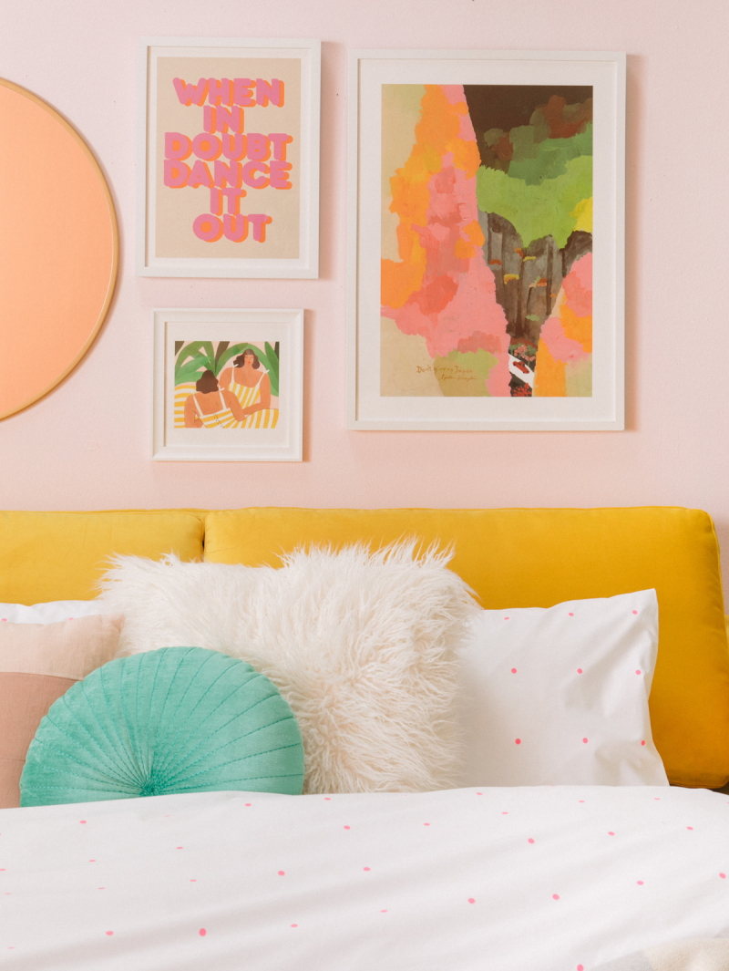 double duty: from home office to guest room...