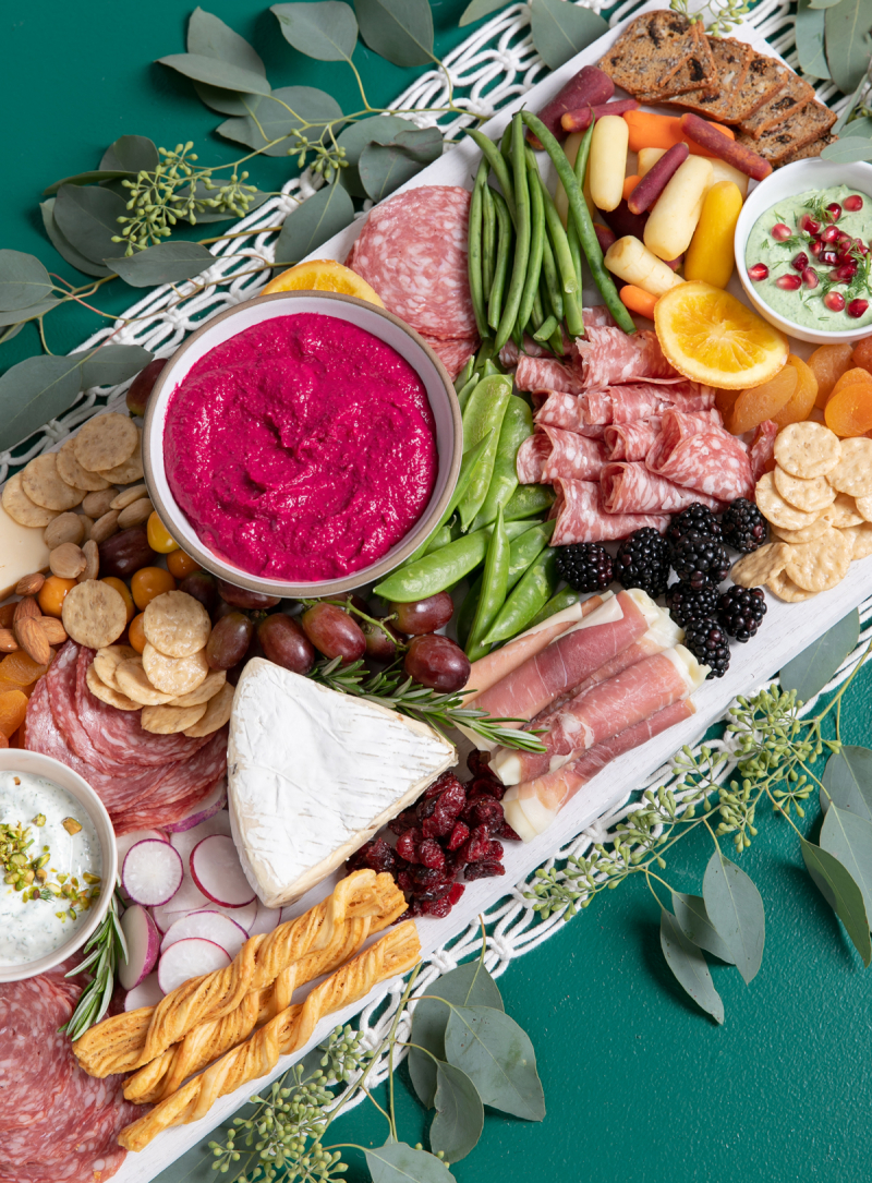 Charcuterie Board with Homemade Dips... / via oh joy!