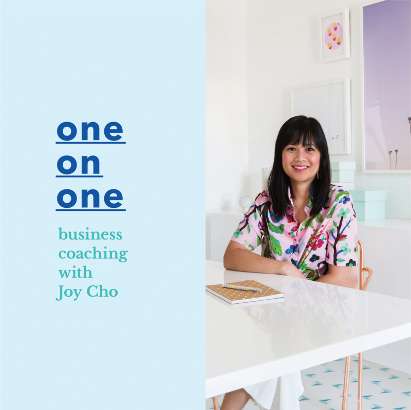 One on One Business Coaching with Joy Cho / via Oh Joy!