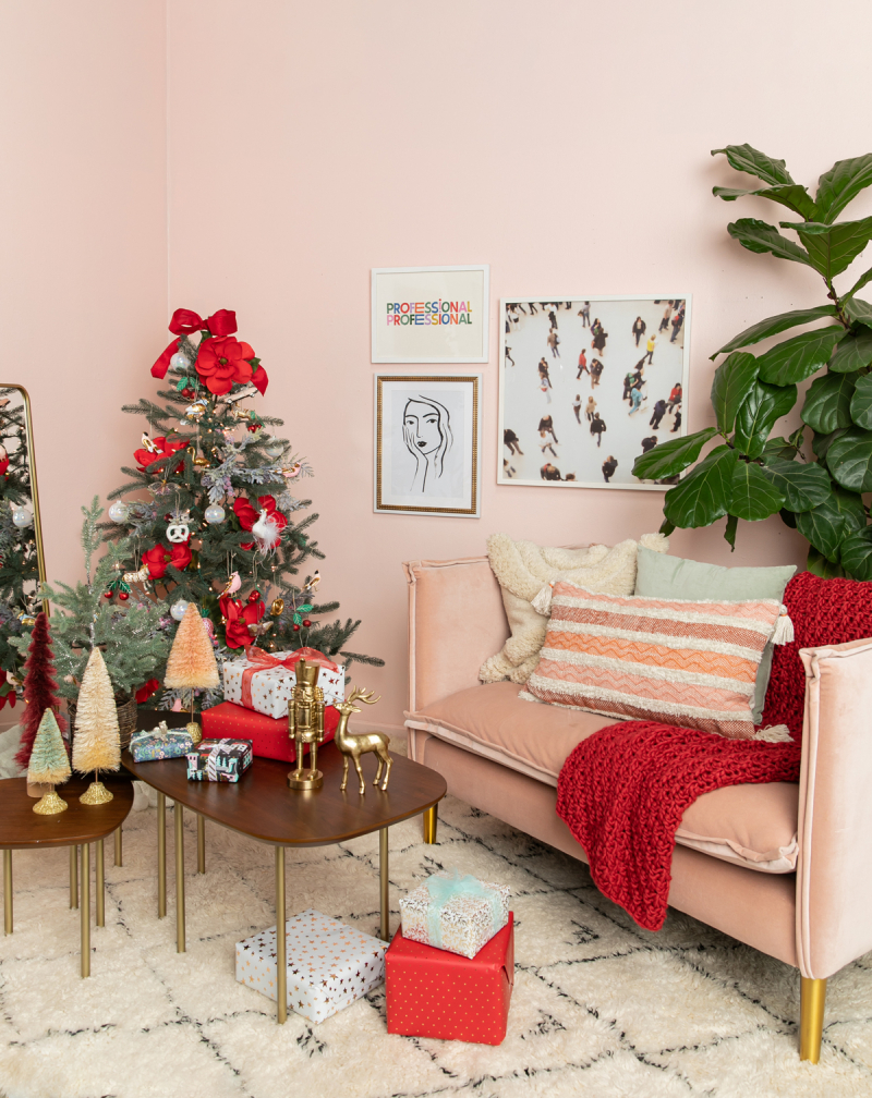 color adventures: a red living room... / via oh joy!