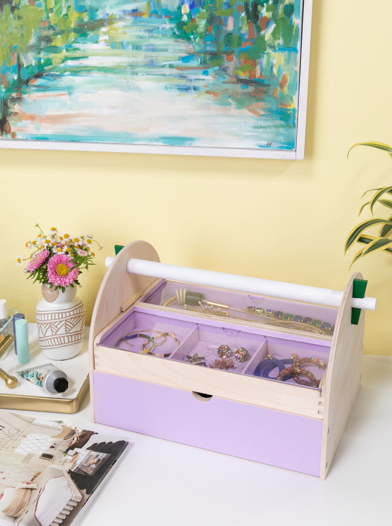 this to that: tool box to jewelry box / via oh joy!