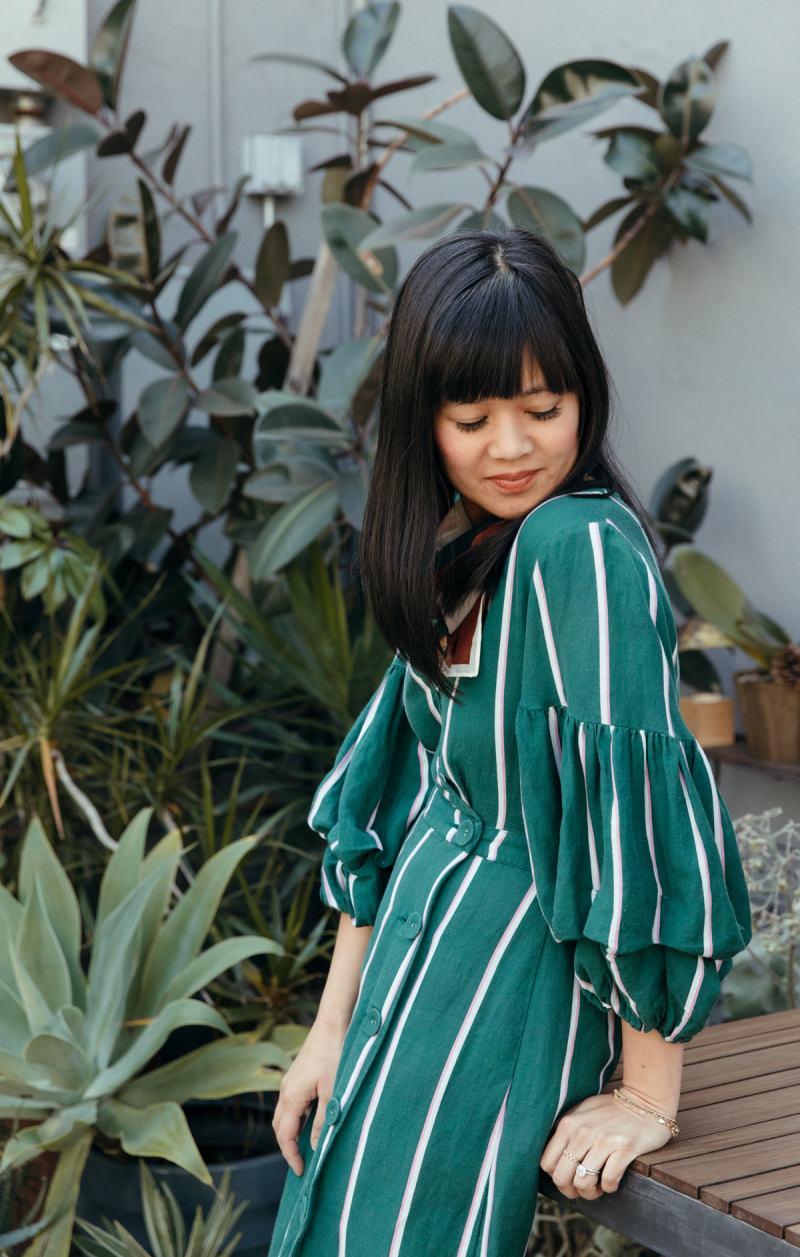 color adventures: green abstract outfits... / via oh joy!