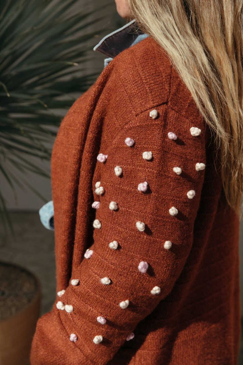 a fun knot sweater diy... / via oh joy!