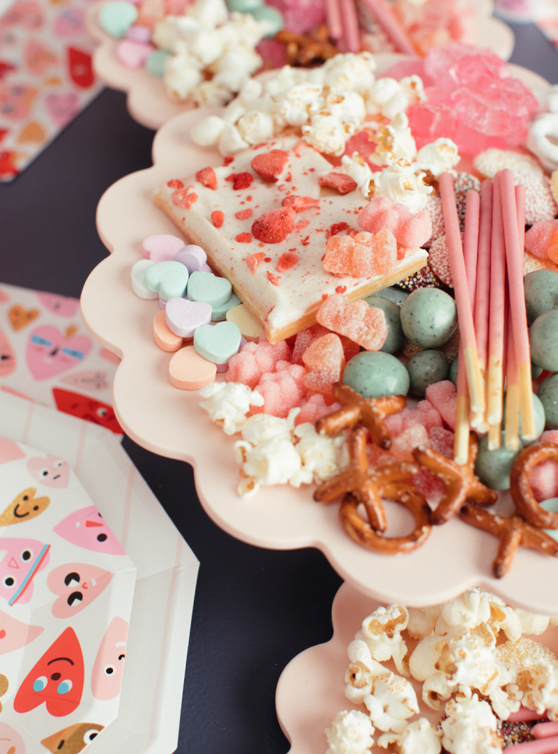 candy charcuterie for Valentine's Day... / via oh joy!