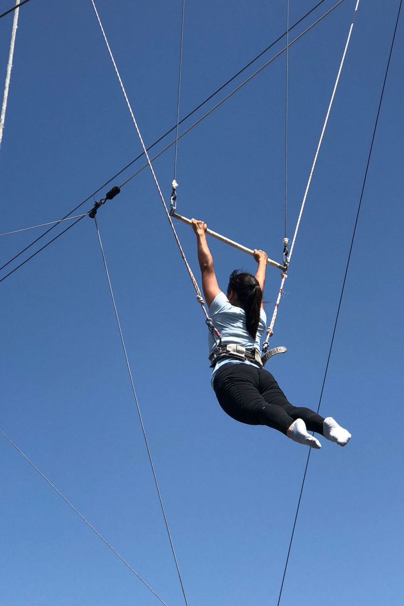 Julia's 3/300: Flying Trapeze! // via Oh Joy! // Trapeze School New Year + Los Angeles