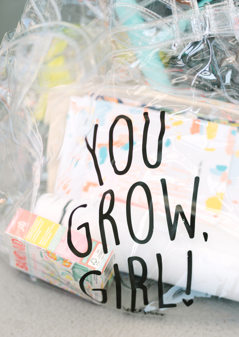 A Pannel All About Licensing with Mixbook // You Grow, Girl goodie bag /// via Oh Joy!