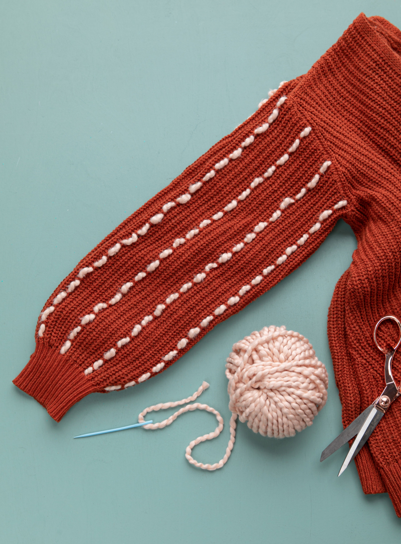 the yarn stitch sweater of your dreams... / via oh joy!