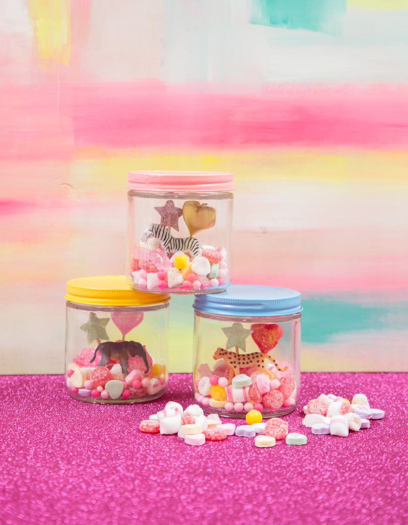 A Candy Terrarium / via Oh Joy!