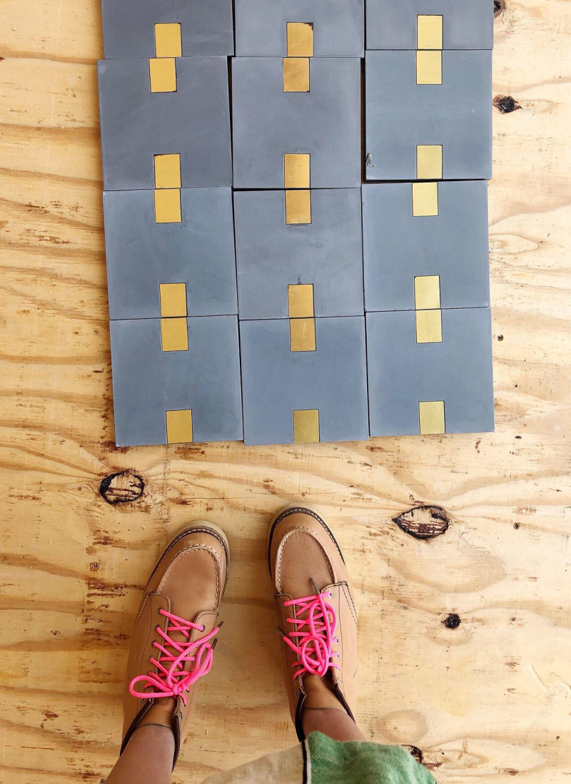 oh joy builds a house update: tiles, tiles, tiles! / via oh joy!