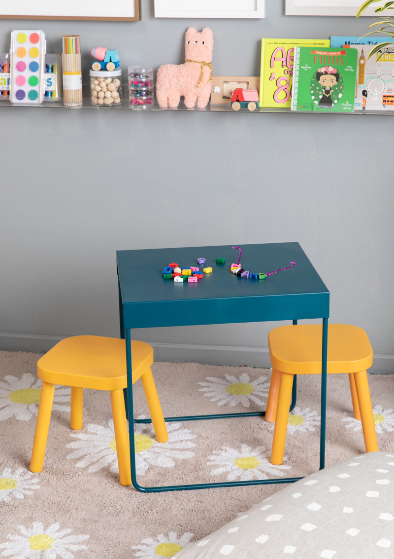 a colorful nesting table diy... / via oh joy!