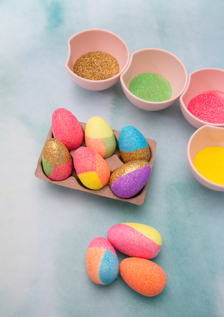 Oh Joy Glitter Easter Eggs