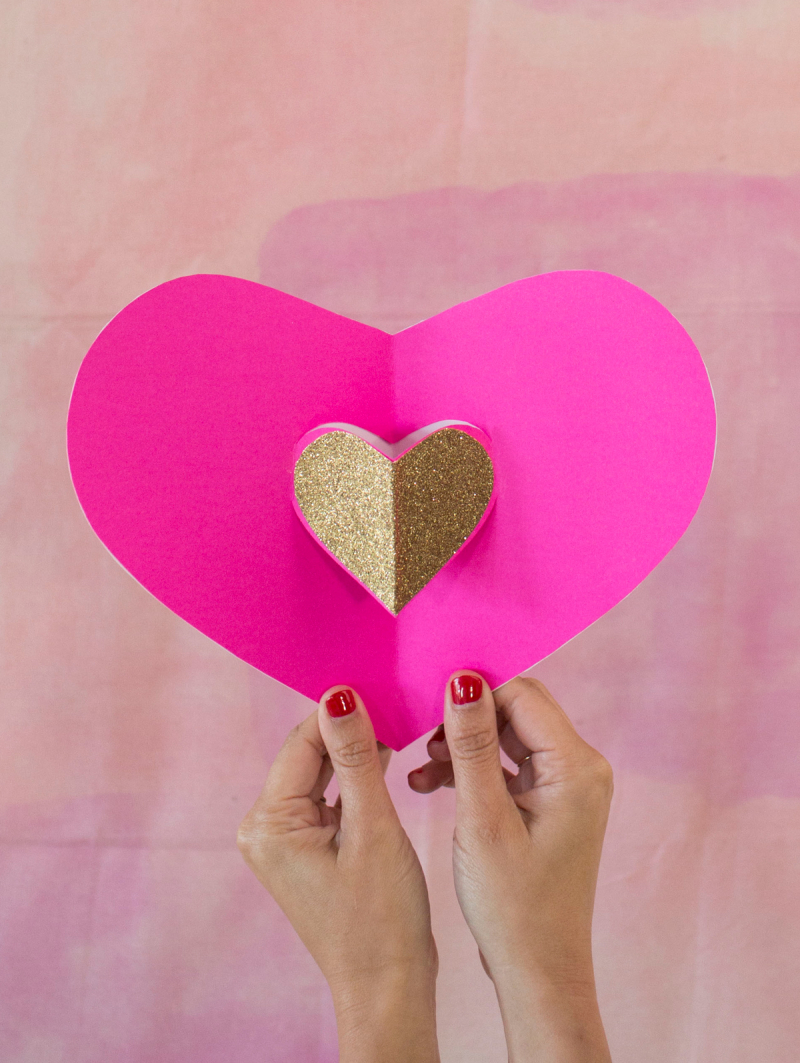 Pop-Up Valentine / via Oh Joy!