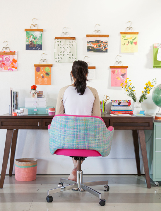 tips and tricks for working from home / Oh Joy!