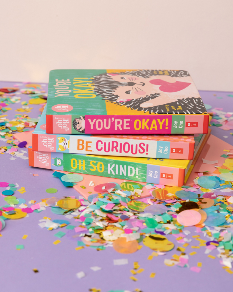 Be Curious! by Joy Cho / Illustrated by Angie Stalker