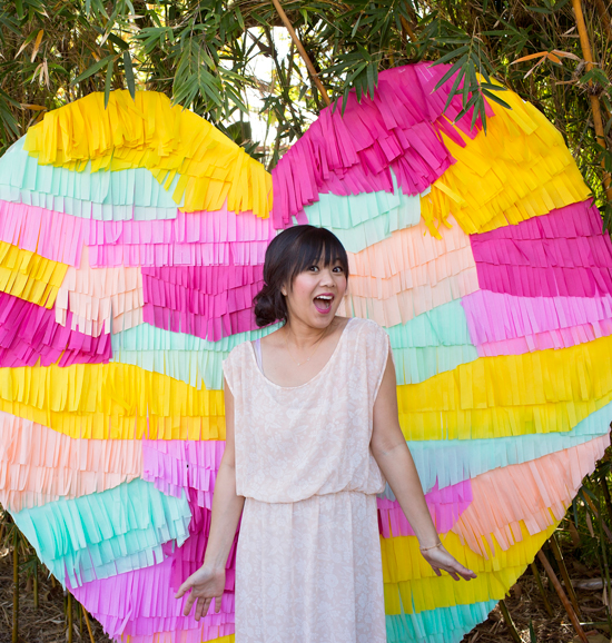 Oh Joy Heart Fringe Backdrop