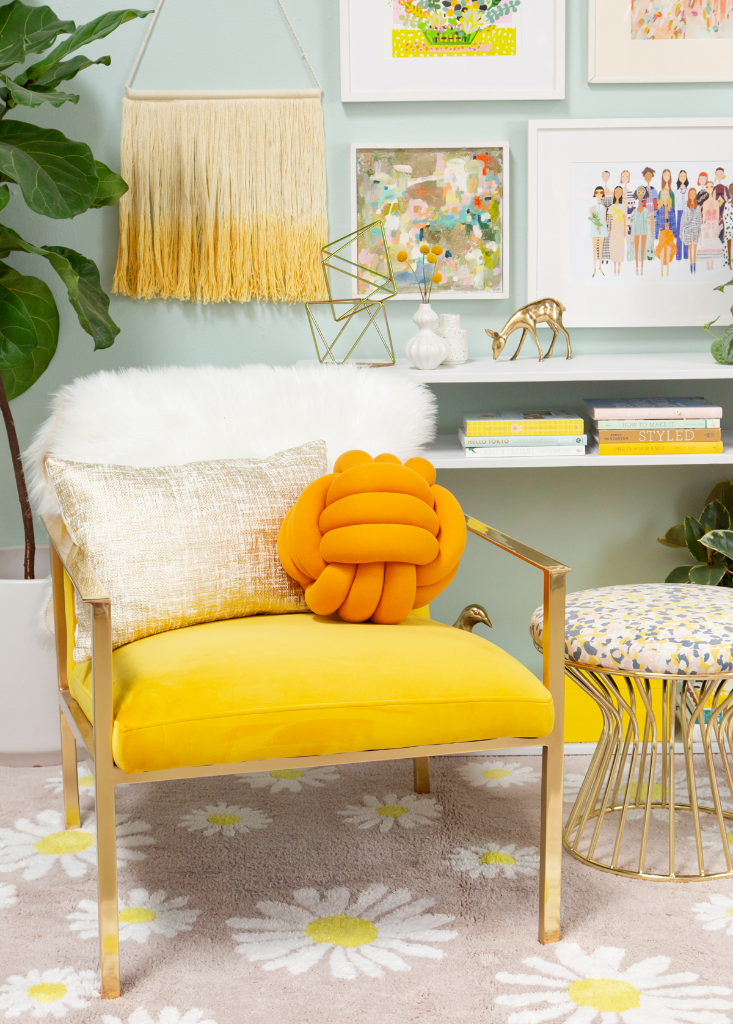 Oh Joy! Decorate with Yellow